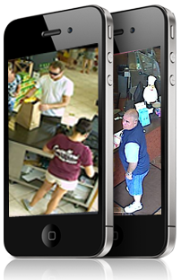 View your surveillance on your smart phone